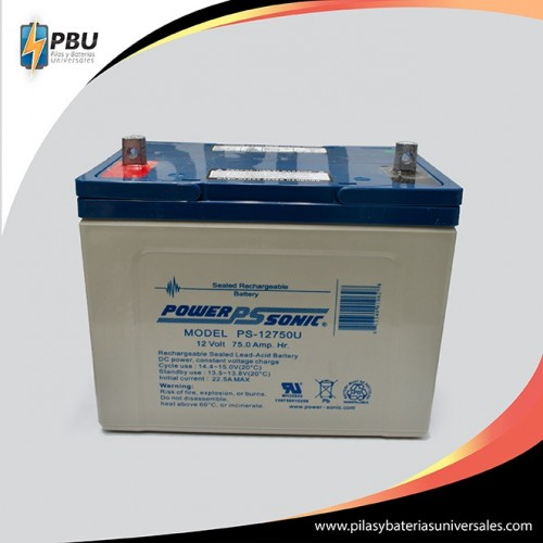 PS-12750 12 Voltios 75 Ampers