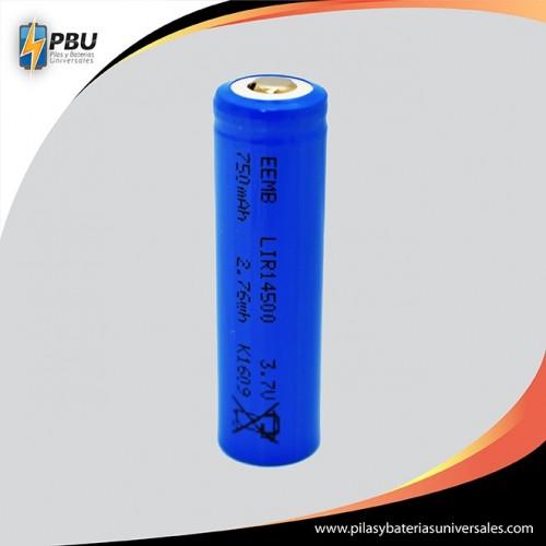 AA 750 mAh  LIR14500 Li-on