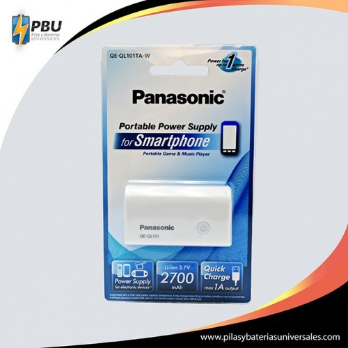 Banco Panasonic 2700 mAh.